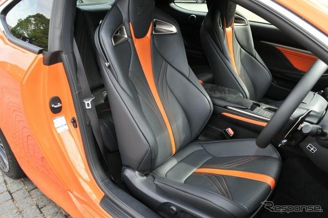 Lexus RC F Comes With Unique Orange Leather In Japan
