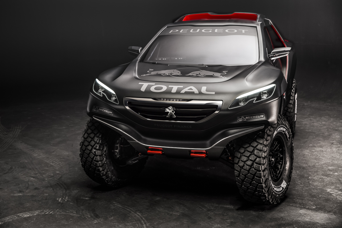 Menacing Peugeot 2008 DKR Is Powered By A 340 HP Twin