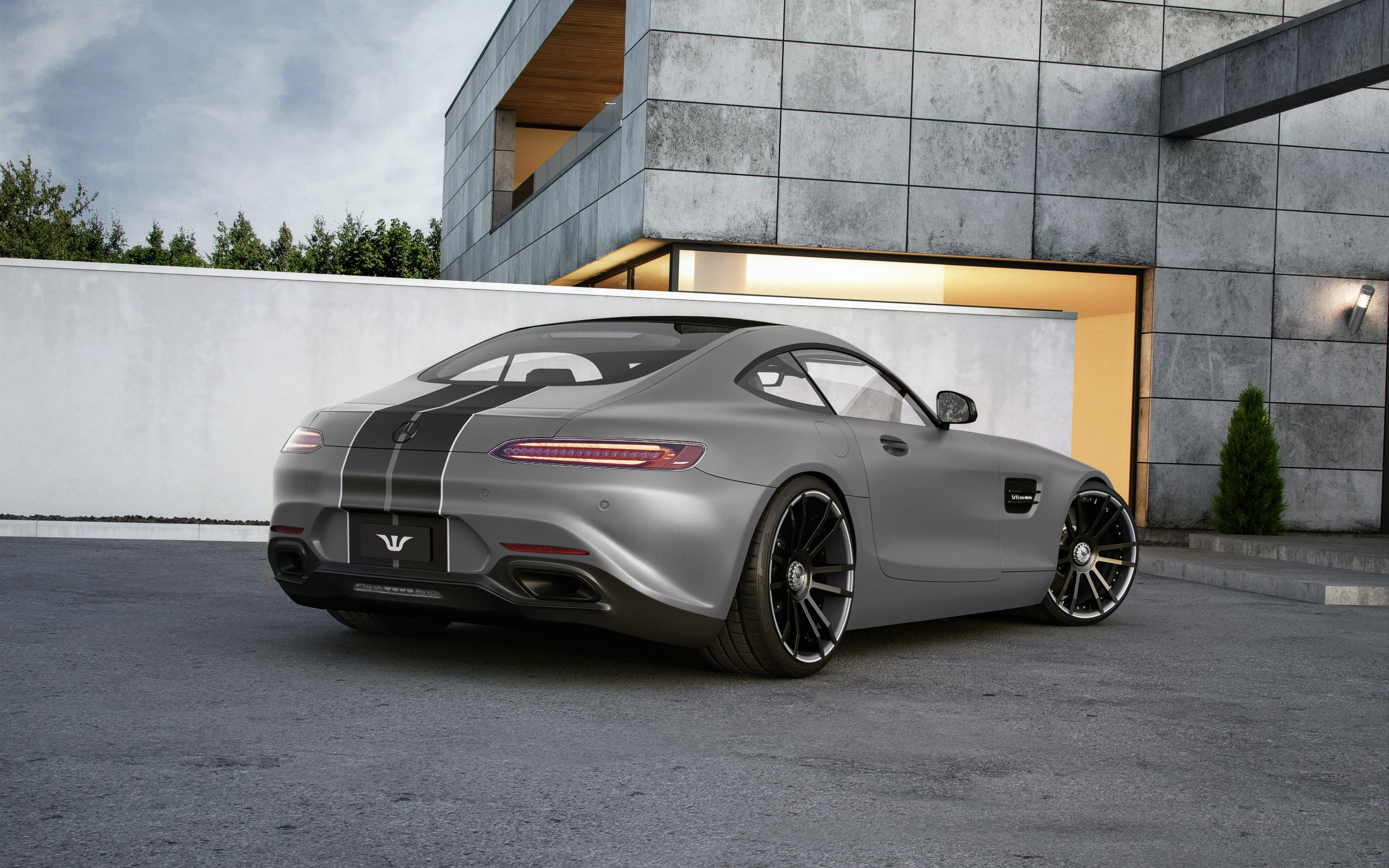 Mercedes AMG GT Tuned By Wheelsandmore To 600 HP