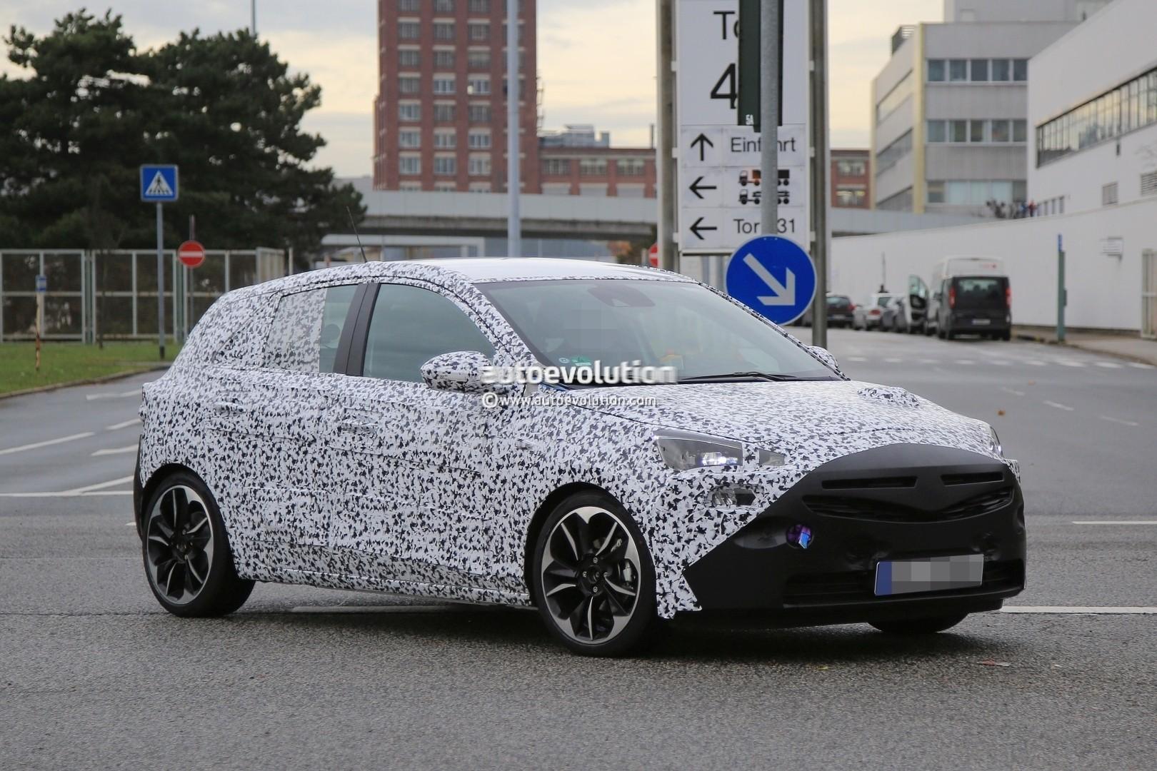 New 2018 Opel Corsa Spied Hiding Its Upmarket Design