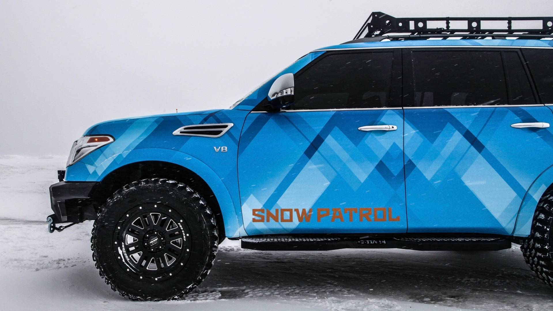 Nissan Armada Snow Patrol Has Nothing To Do With The Band