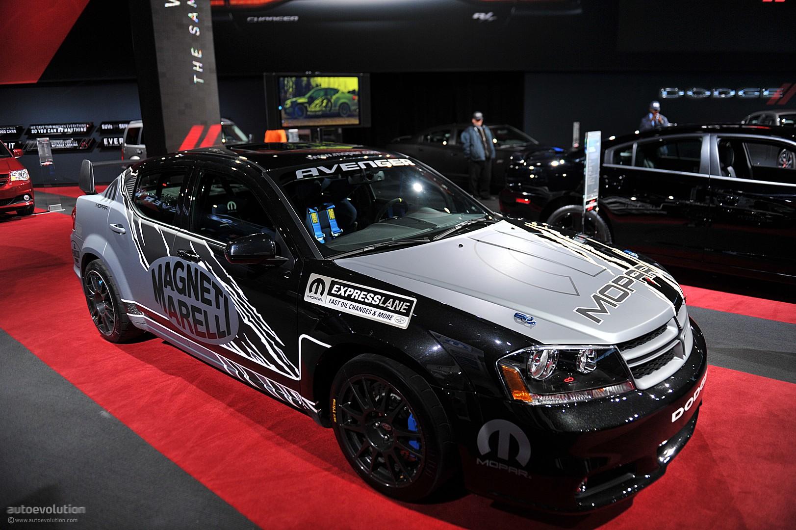 Nyias Mopar Dodge Avenger Rally Car Live Photos