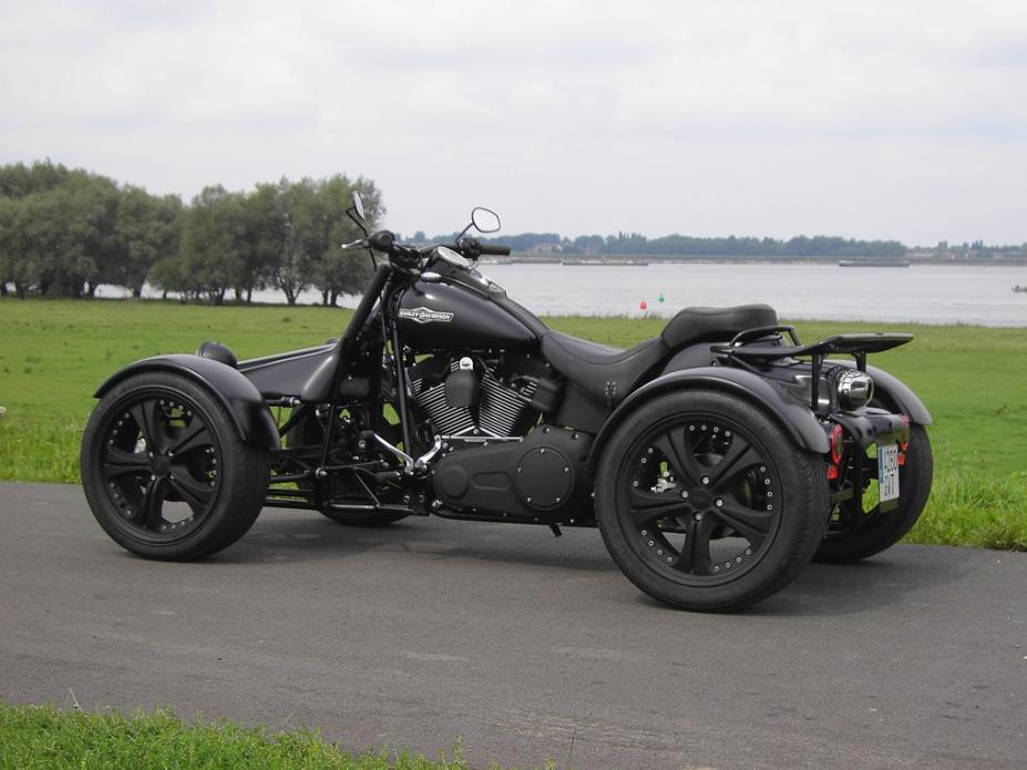 Q Tec Quad And Trike Conversion Kit For Harley Bikes