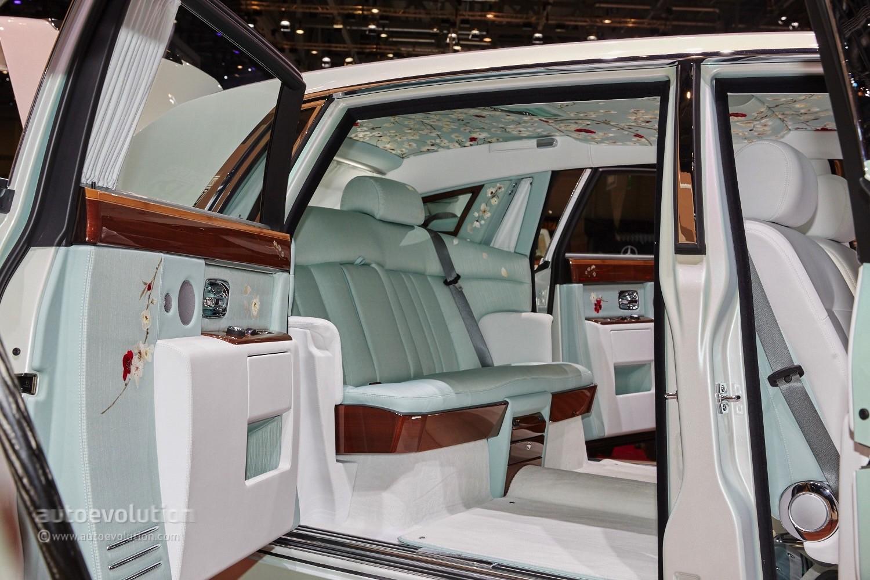 Rolls Royces Phantom Serenity Showed Us What Bespoke
