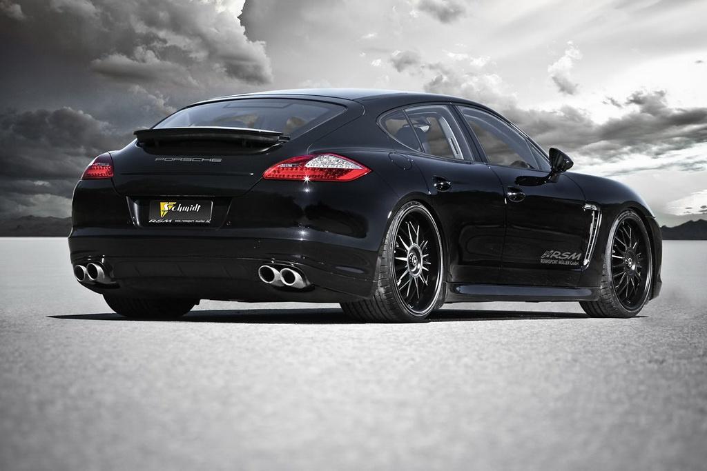 Schmidt Revolution Touches The Porsche Panamera 4S