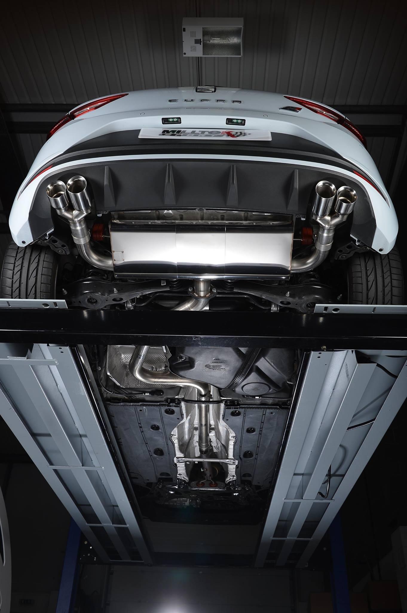 Seat Leon Cupra 280 Ps Gets Milltek Performance Exhaust