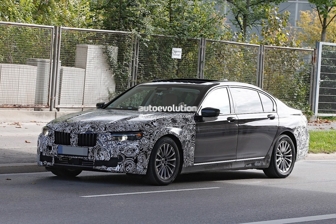 spyshots: 2019 bmw 7 series lci to get major styling refresh
