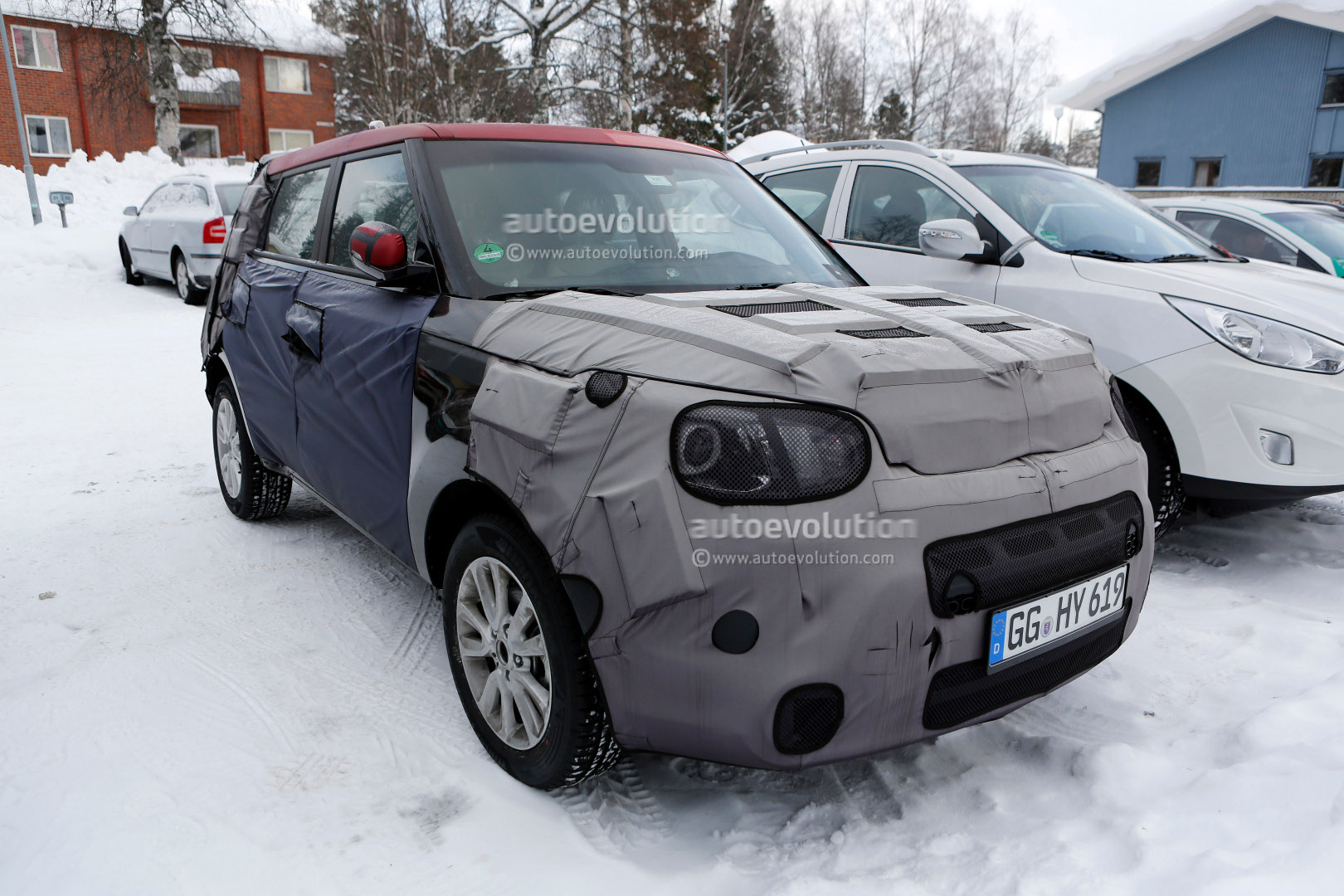 Spyshots Kia Soul 2014 Interior Revealed Autoevolution