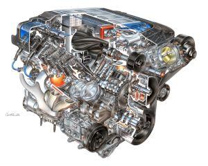 The Heart of a Corvette ZR1 for Sale!  autoevolution