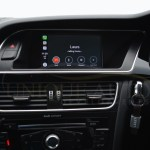 This Apple Carplay Kit For Older Audi Models Looks Like A Factory Installed Unit Autoevolution