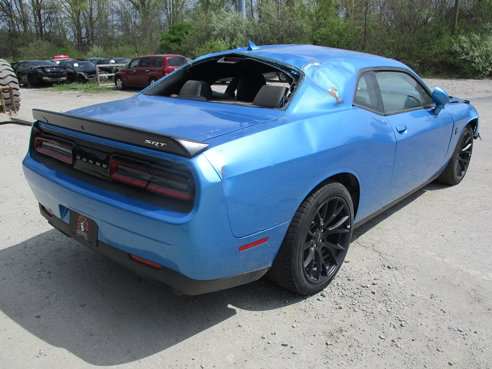 Girl Gives Her Dodge Challenger Hellcat A Rusty Wrap For A