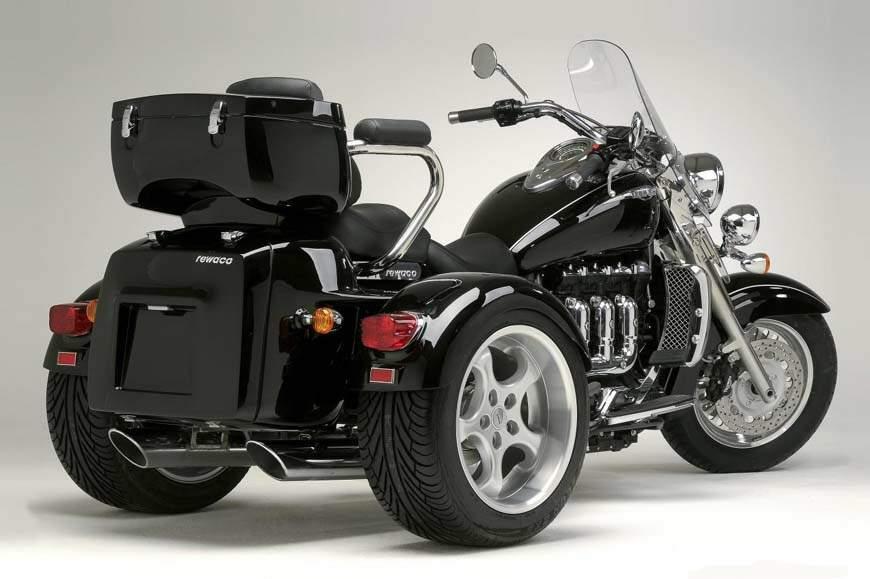 Triumph Prepares New Rocket Iii Trike For 2013 Autoevolution
