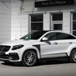 White Mercedes Gle Coupe 63s With Topcar Inferno Kit Has Carbon Mercedes Gle Forum