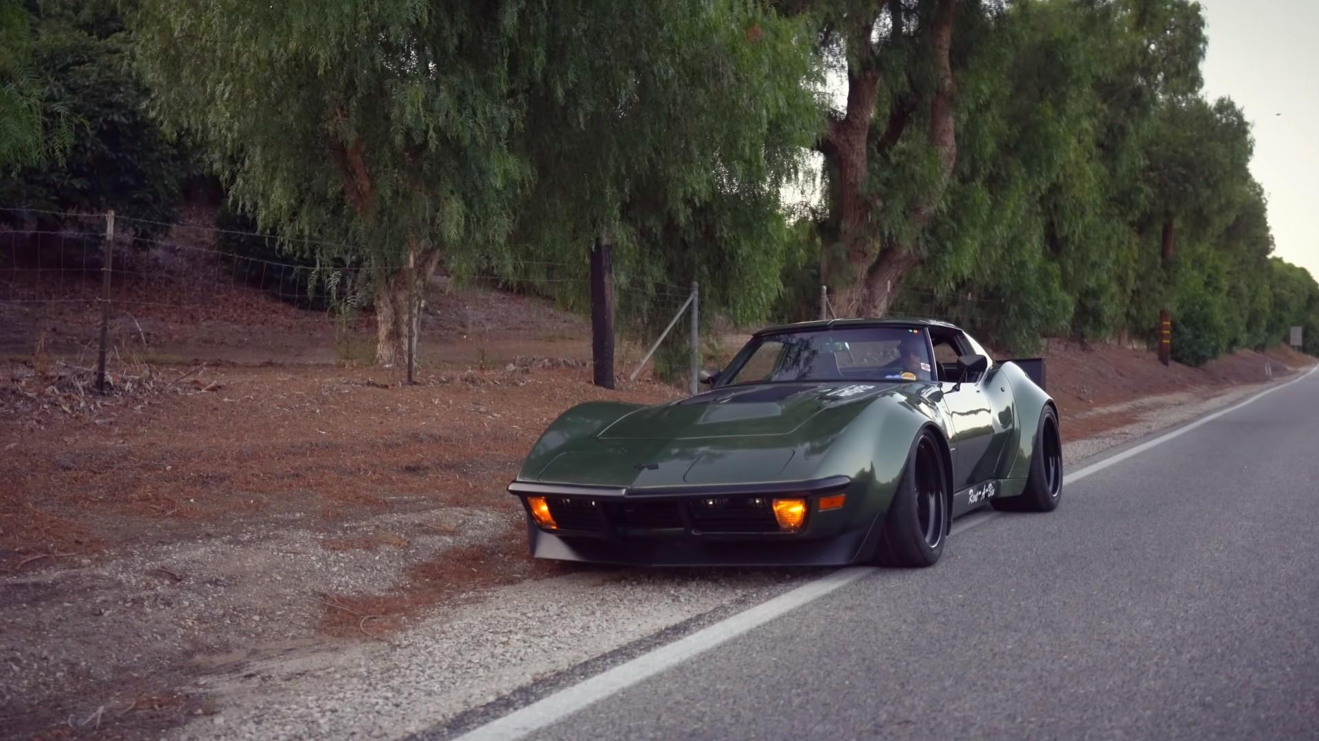 widebody 1970 corvette c3 rambo isn t