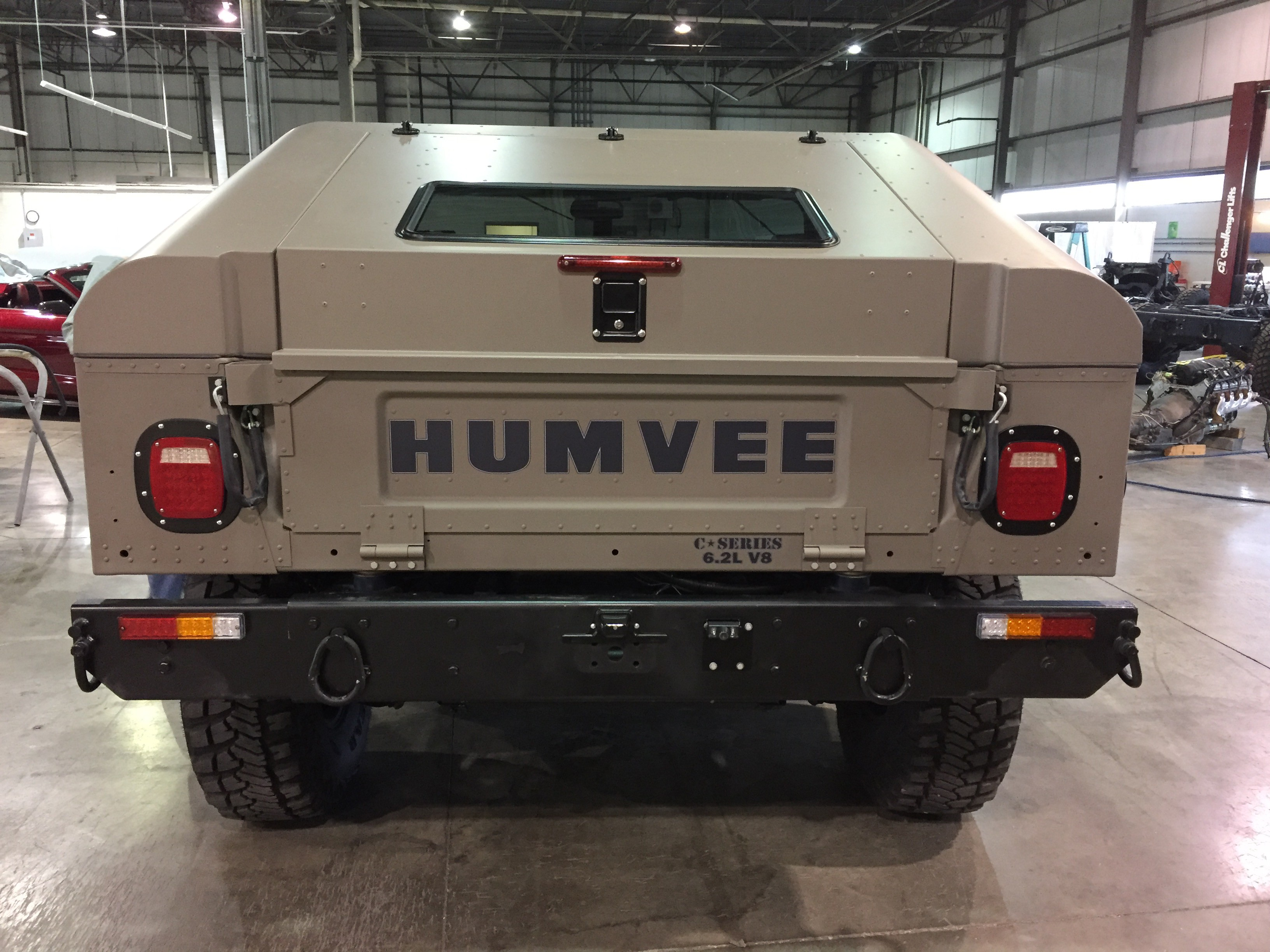 The Hummer H1 Lives As The Humvee C Series autoevolution