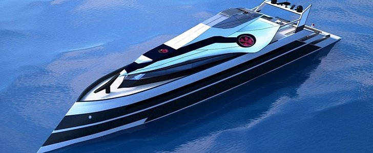 In 2050 Business Magnates Will Cruise On Flying Yachts