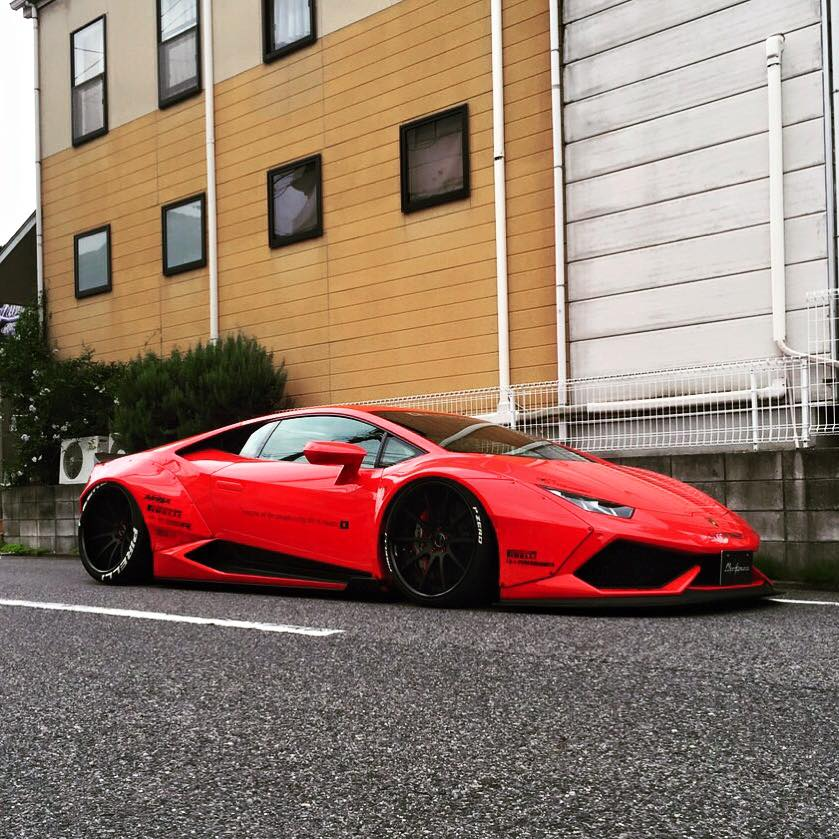 Liberty Walk Lamborghini Huracan Is a Devil with No ...