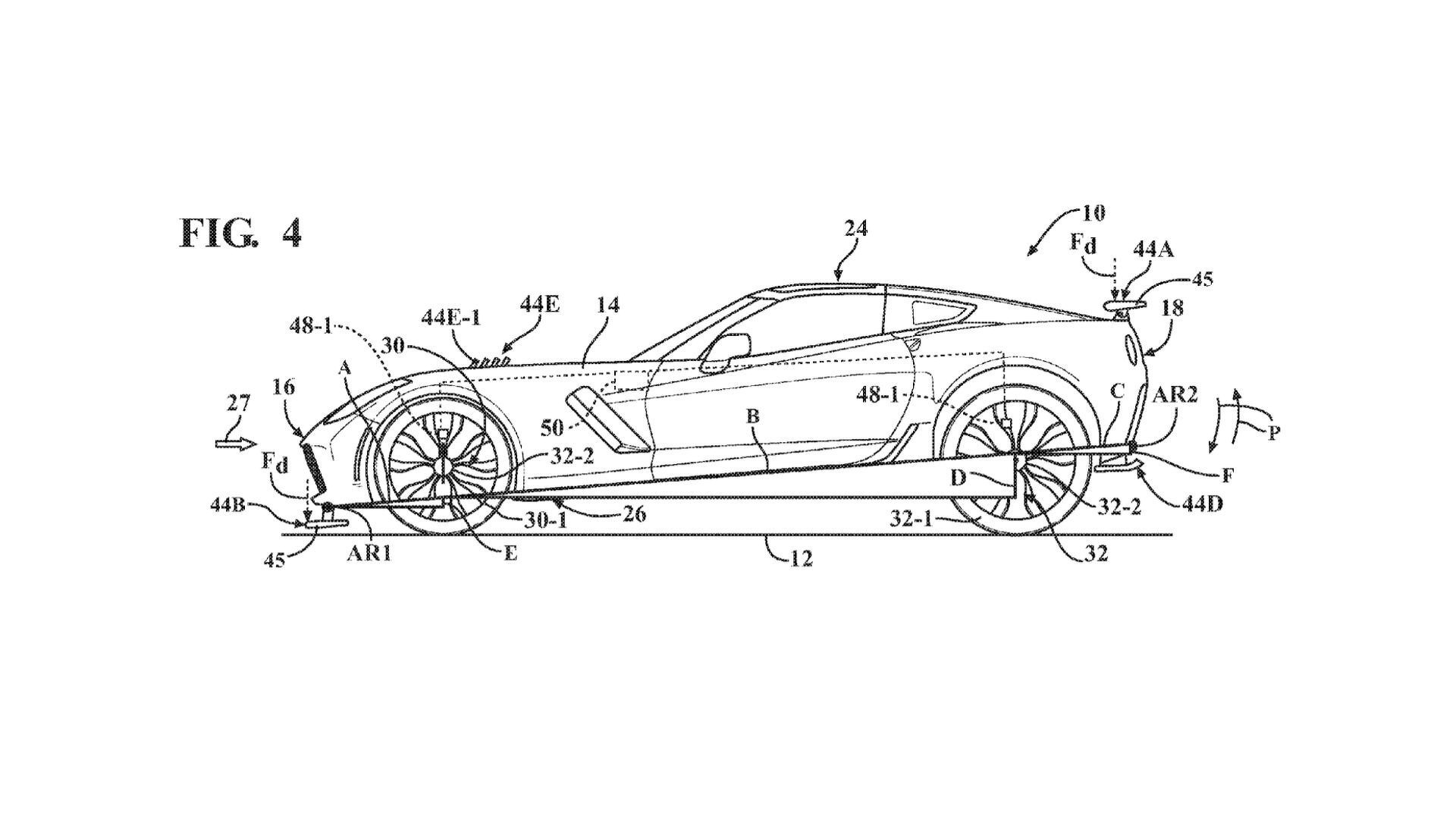 Patent Filling Reveals Chevrolet Is Working On Active Aero