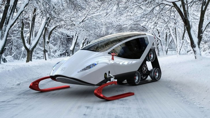 Snow Crawler The Koenigsegg Of Electric Snowmobile
