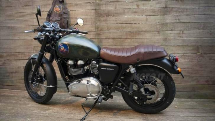 Motorcycle Mcqueen Steve Triumph
