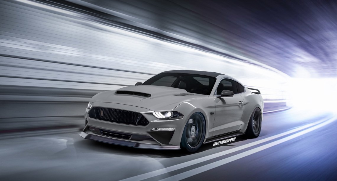 what if the 2019 shelby gt500 mustang looked like this? - autoevolution