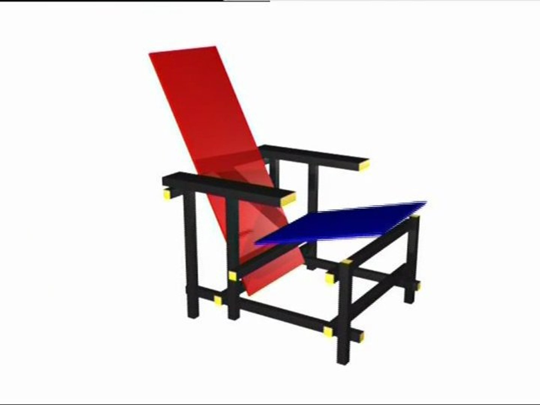 design la chaise rietveld