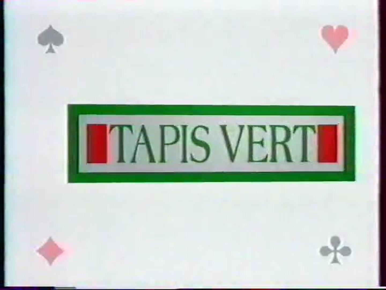 tapis vert francais des jeux 25 juillet 1992 tf1