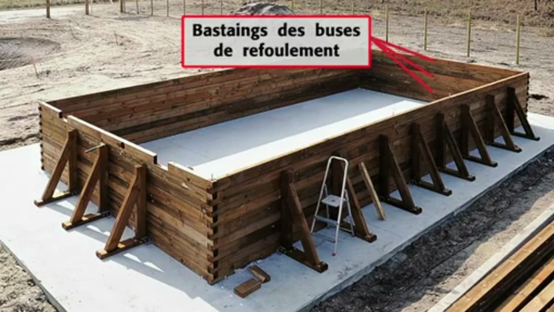 comment installer une piscine bois rectangulaire hors sol