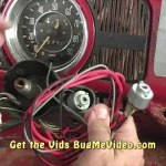 Classic Vw Bugs How To Remove Replace Late Beetle Ignition Switch Housing Video Dailymotion