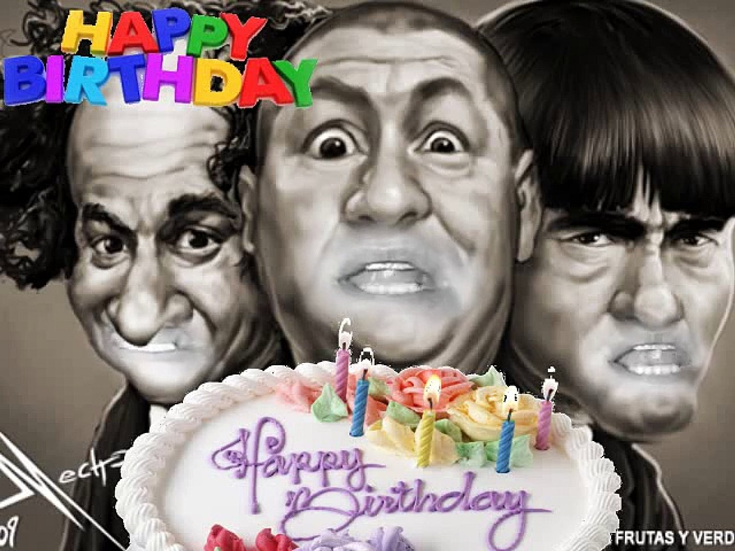 Happy Birthday 3 Stooges Video Dailymotion