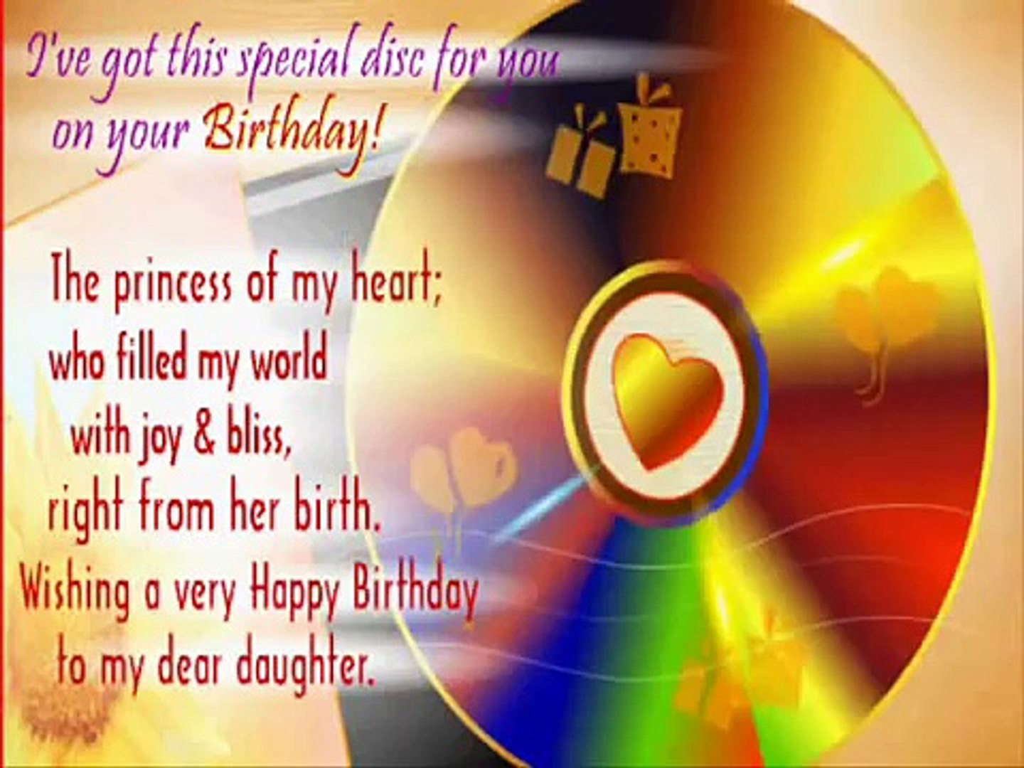 Birthday Song For Ur Daughter Video Dailymotion