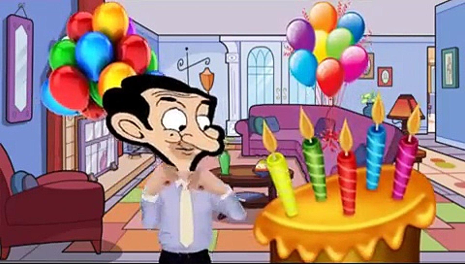 Happy Birthday Song Mr Bean Cartoon Nursery Rhymes For Kids Video Dailymotion