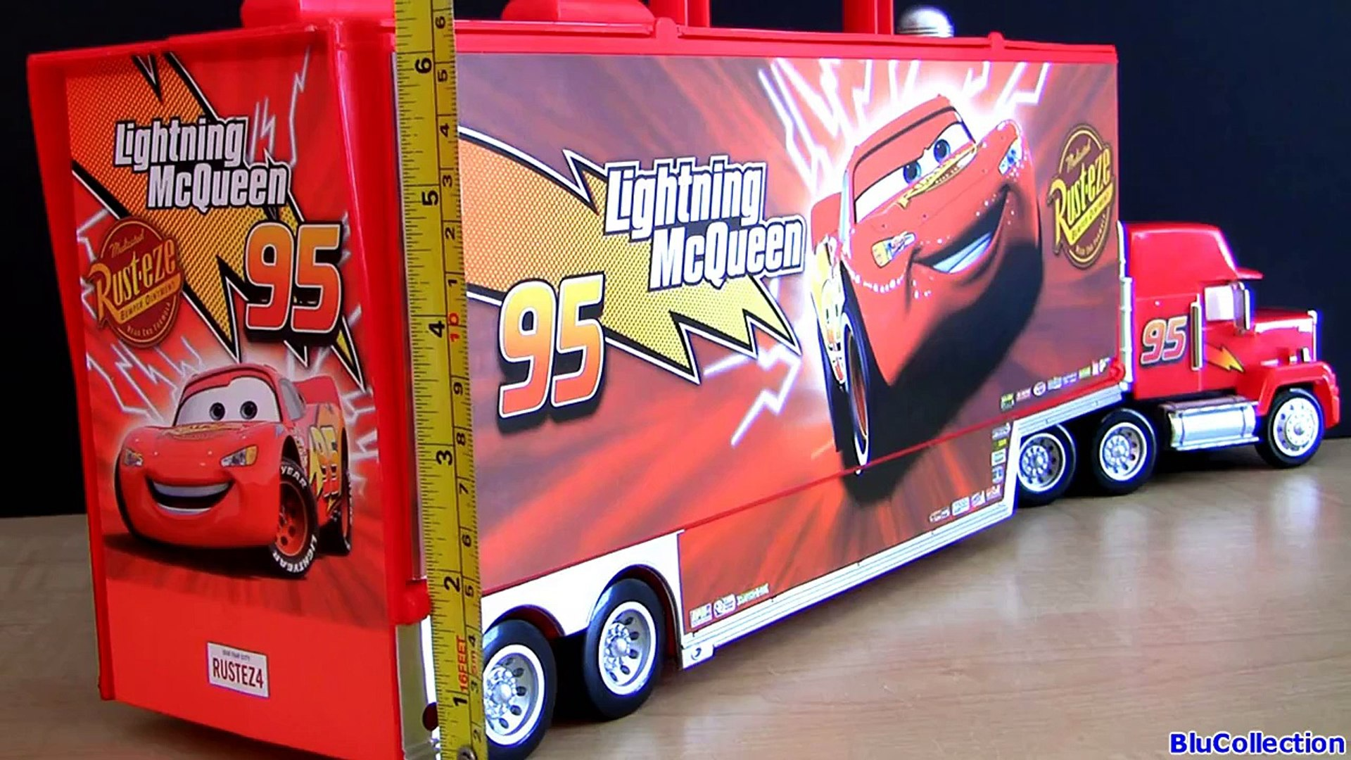 Disney Cars Mack Truck Hauler Carry Case Store 30 Diecasts Woody Buzz Toy Story ディズニーカーズ マ Dailymotion Video