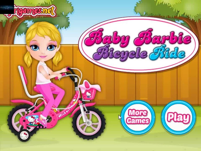jeux de fille bebe barbie bike jeux