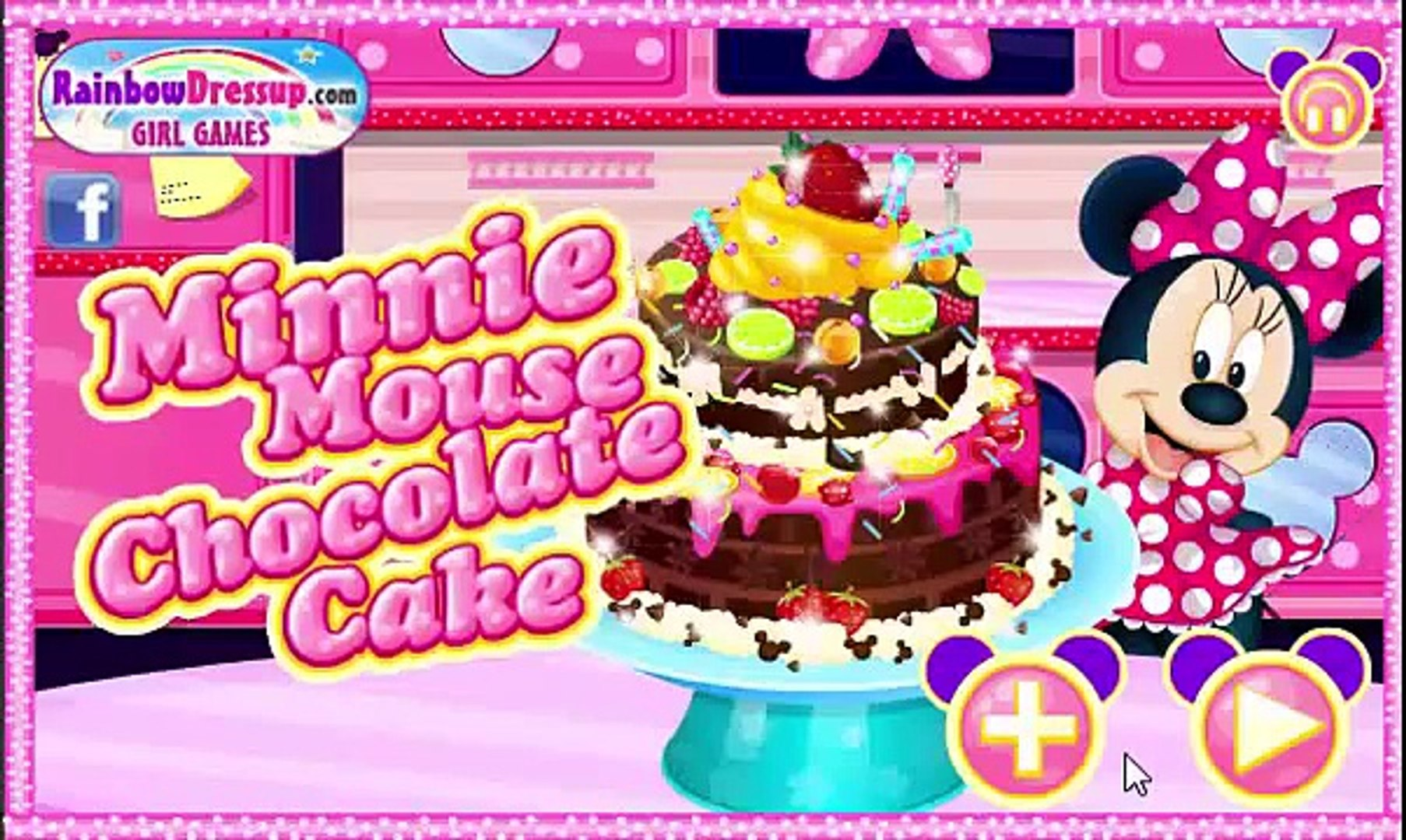 Minnie Mouse Chocolate Cake Mickey Mouse Full Game Episodes In English Video Dailymotion