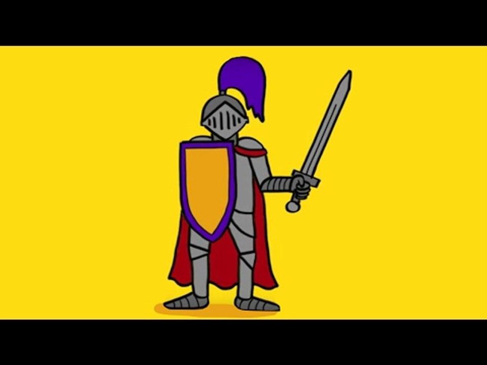 Comment Dessiner Un Chevalier Avec Son Armure Et Son Epee Video Dailymotion