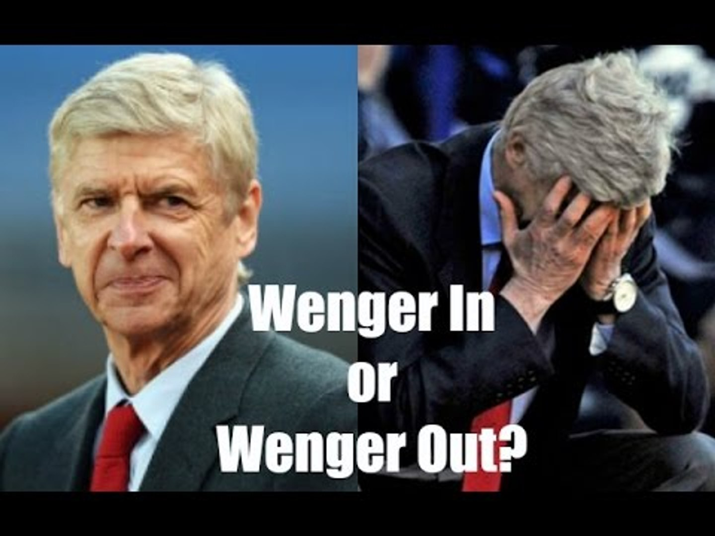 Wenger In Or Wenger Out Robbie Finally Gives His Opinion
