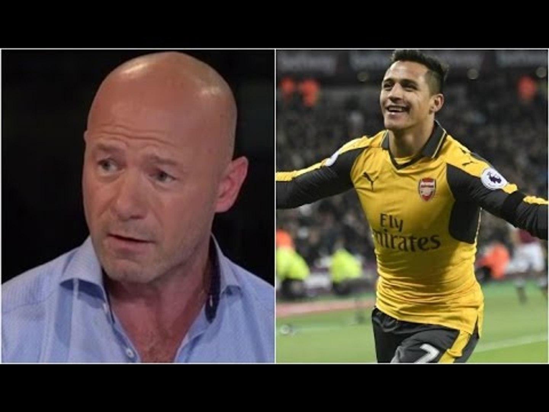 Stop Chatting Rubbish Alan Shearer Alexis Sanchez Is World Class