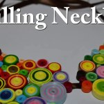 How To Make A Paper Quilling Necklace Birthday Gift Idea Diy Crafts Tutorials Giulia S Art Video Dailymotion