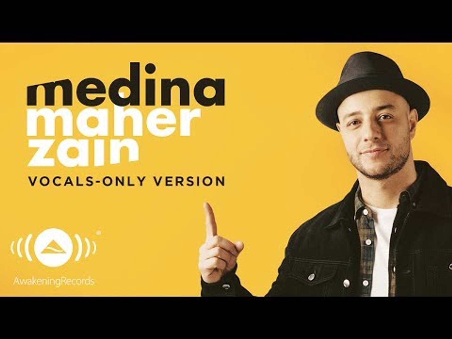Maher Zain Medina ماهر زين Vocals Only بدون موسيقى Official Lyric Video Video Dailymotion