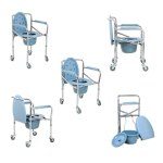 How To Use Folding Commode Wheel Chair By Wheelchair India