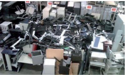 pour le recyclage du materiel plus le poids est important plus la facture est legere