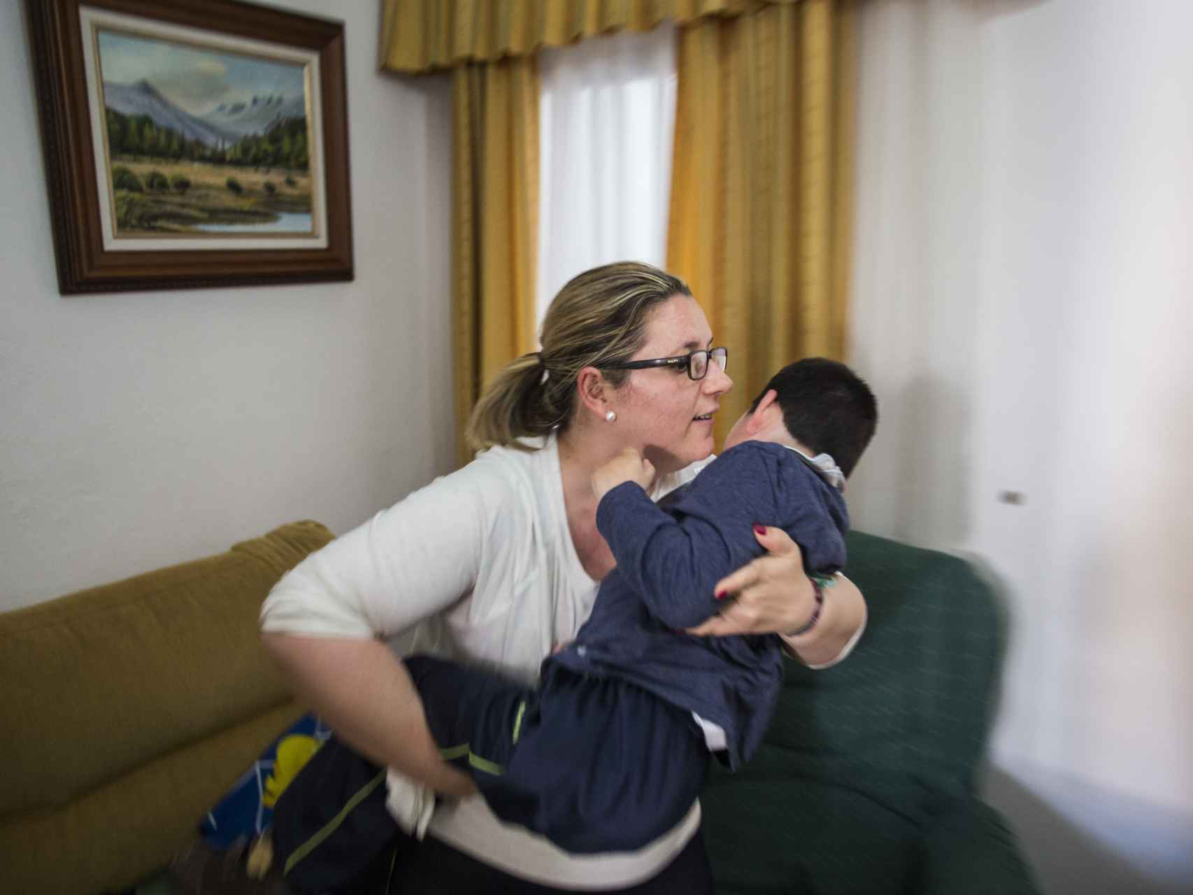 Patricia llegó a ir hasta cinco veces a Filadelfia para que tratasen a su hijo en un supuesto instituto puntero.