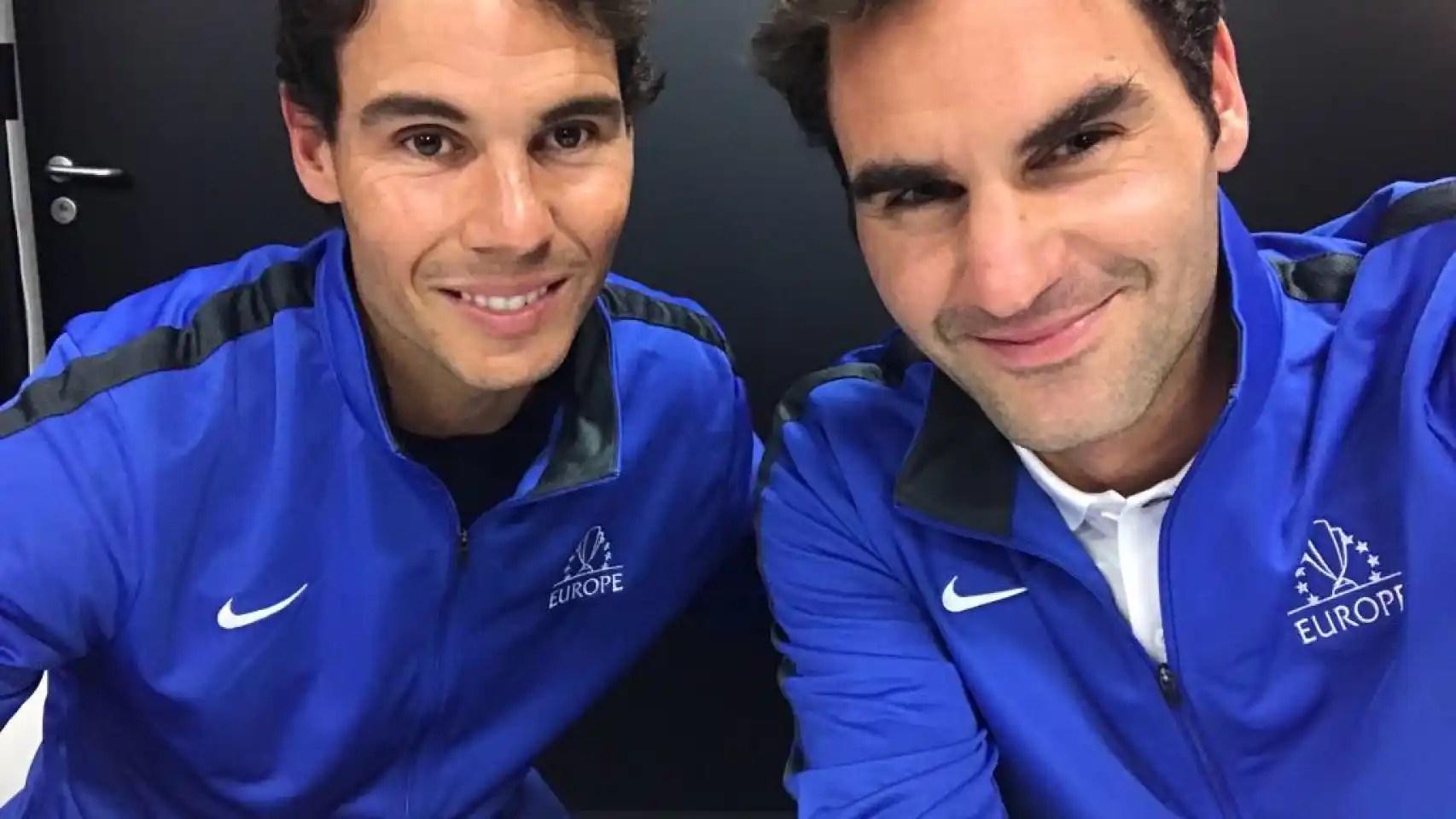 Nadal y Federer, por primera vez juntos: el dobles que paraliza el ...