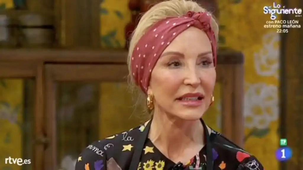 Carmen Lomana cumple su deseo y es expulsada de 'MasterChef Celebrity'
