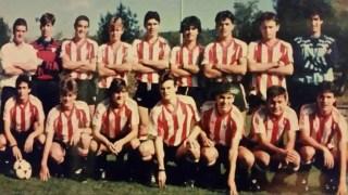 Generación de la cantera del Athletic en la que estaba Alberto Martín.