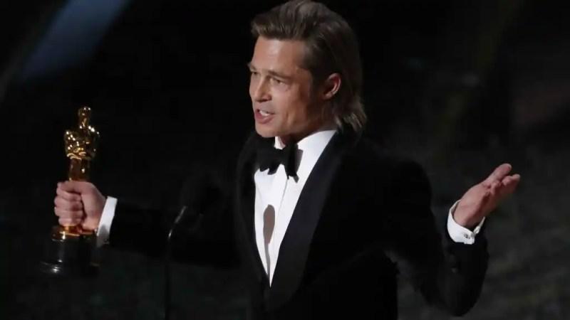 Brad Pitt logra el Oscar al Mejor actor secundario por 'Érase una vez en... Hollywood'