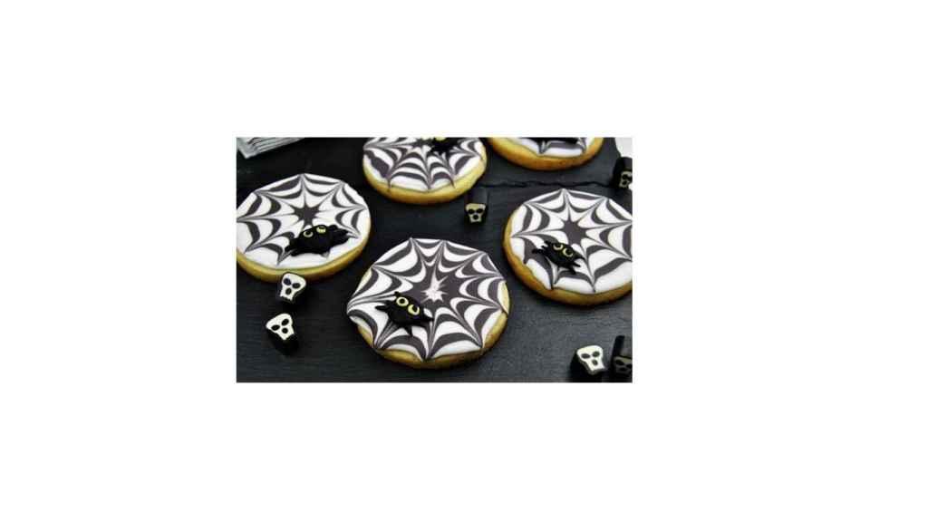 Galletas tela de araña (Halloween)