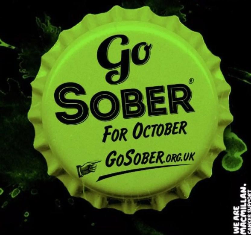 Imagen de la campaña 'Sober october'