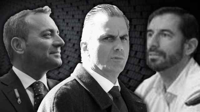 Tomás Fernández, Ortega Smith y David Lucas, en el relato de los disidentes